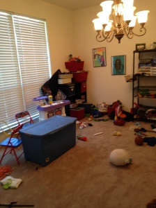 Playroom (from a different angle) before