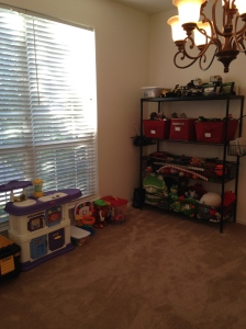 Playroom (from a different angle) after