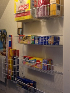 High-frequency-Use items at an arms reach with these  handy pantry organizers.