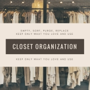 Yes! We do closets!